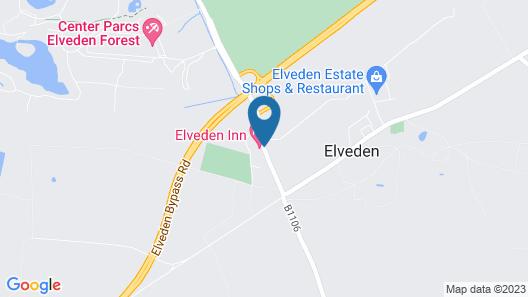 Elveden Inn Map