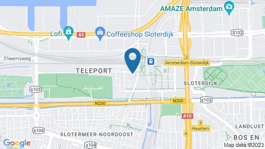 Mercure Hotel Amsterdam Sloterdijk Station Map
