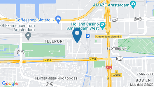 Mercure Hotel Amsterdam Sloterdijk Station Map
