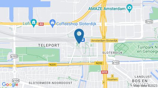 Holiday Inn Express Amsterdam - Sloterdijk Station, an IHG Hotel Map