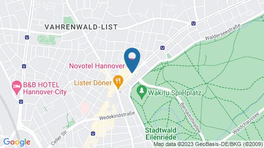 Novotel Hannover Map
