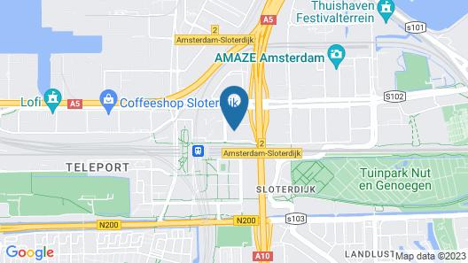 Park Inn By Radisson Amsterdam City West Map