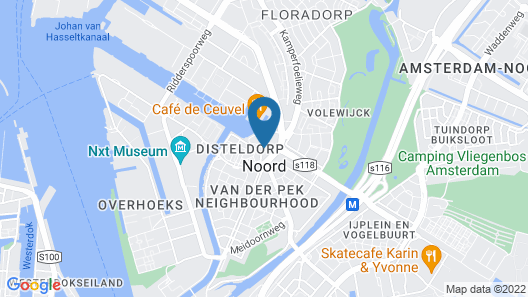 NH Amsterdam Noord Map