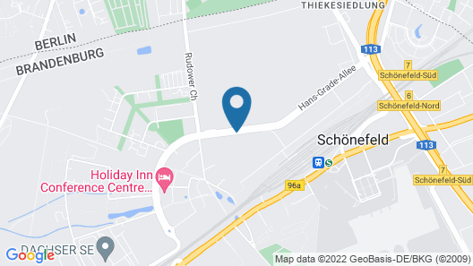 Campanile Berlin Brandenburg Airport Map