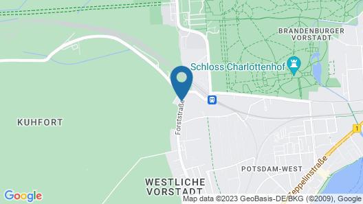 Wyndham Garden Potsdam Map