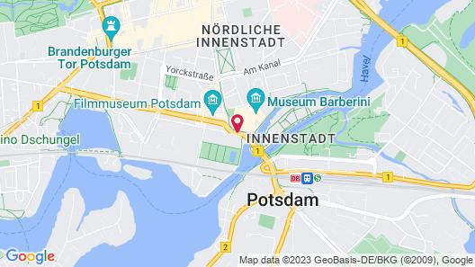 Mercure Hotel Potsdam City Map