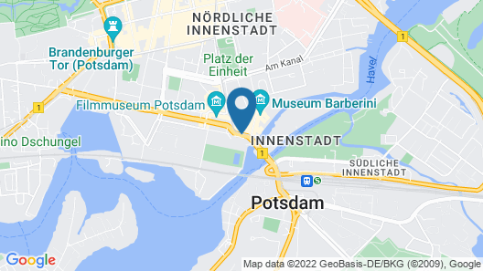 Mercure Hotel Potsdam City Map