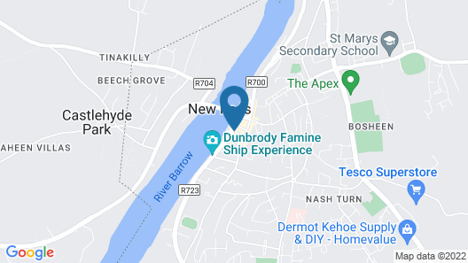 The Kennedy Boutique Hotel Map