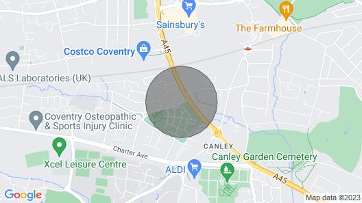 A Beautifully Presented Studio Flat Map