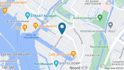 Short Stay Group NDSM  Serviced Apartments Map