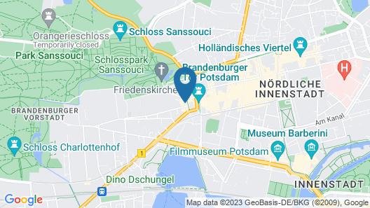 Hotel am Luisenplatz Map