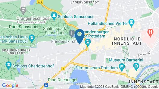 MAXX by Steigenberger Sanssouci Potsdam Map