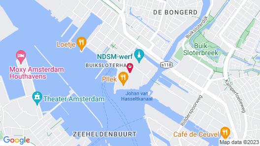 DoubleTree by Hilton Hotel Amsterdam - NDSM Wharf Map