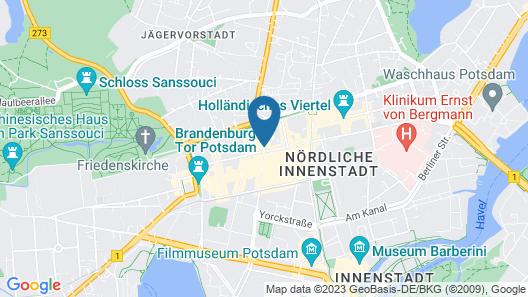 Altstadt Hotel Map