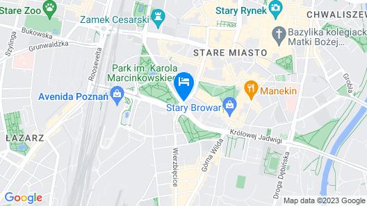 Traffic Hotel Map