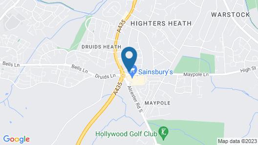 Travelodge Birmingham Maypole Map