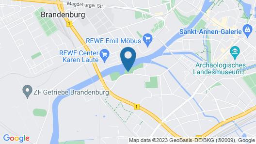 Marina Niederhavel Map