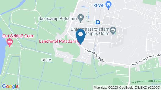 Landhotel Potsdam Map