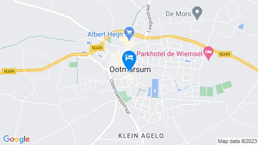 B&B Ootmarsum Map