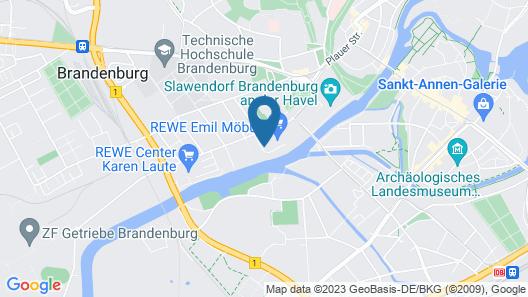 havelblau FERIENLOFTS Map