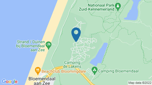 Surfana Surf Hostel Bloemendaal Campsite Map