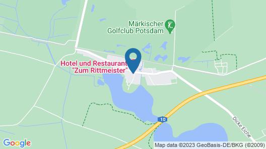 Hotel Zum Rittmeister Map