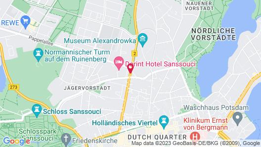 Dorint Sanssouci Berlin/Potsdam Map
