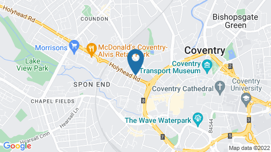 Days Hotel by Wyndham Coventry City Centre Map