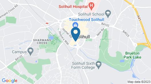 Crowne Plaza Solihull, an IHG Hotel Map
