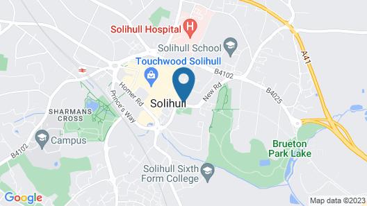 Ramada by Wyndham Birmingham Solihull Map