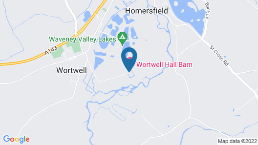 Wortwell Hall Barn Map
