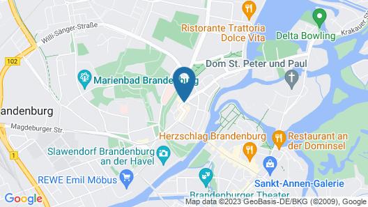 Sorat Hotel Brandenburg Map