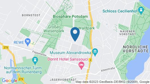 Limehome Potsdam Annemarie-Wolff Platz Map