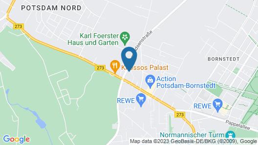 Hotel am Katharinenholz Potsdam Map