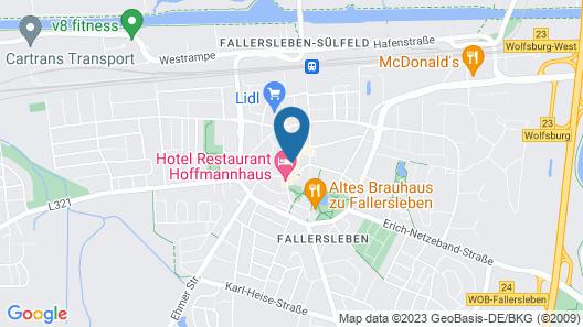 Fallersleber Spieker Hotel Map