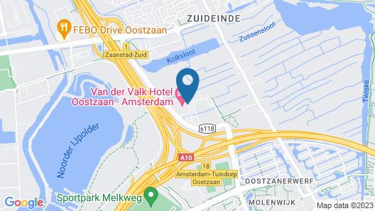 Van Der Valk Hotel Oostzaan - Amsterdam Map