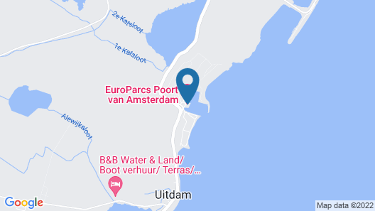 EuroParcs Resort Poort van Amsterdam Map