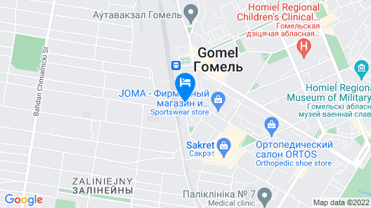Amaks Visit Hotel Map