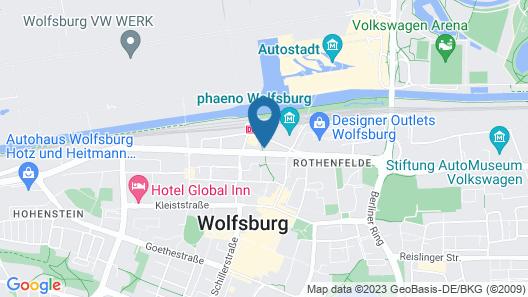 INNSiDE by Melia Wolfsburg Map