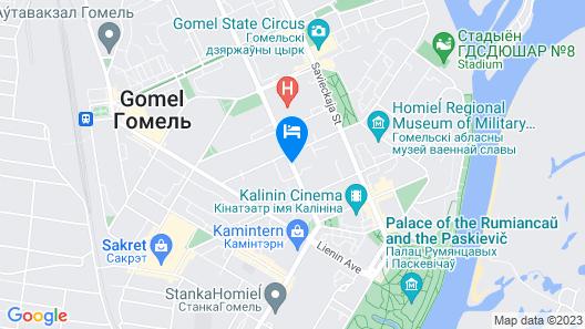 PaulMarie Apartments in Gomel Map