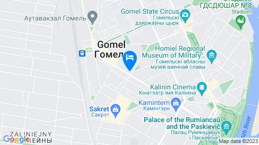 PaulMarie Apartments on Lenina Avenue Map