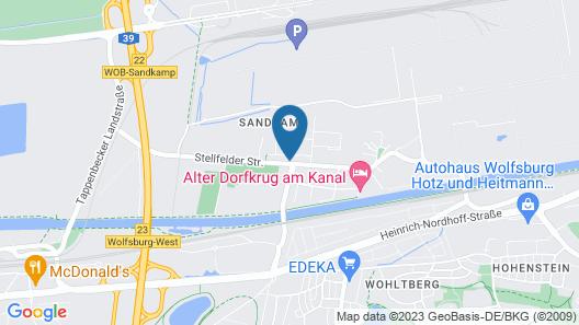 Hotel Jott wie Jäger Map