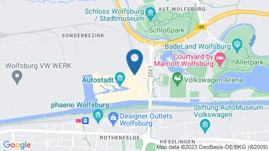 The Ritz-Carlton, Wolfsburg Map