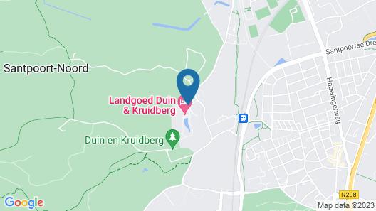 Landgoed Duin & Kruidberg Map