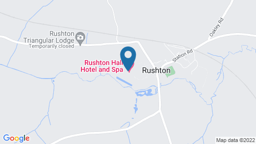 Rushton Hall Hotel & SPA Map