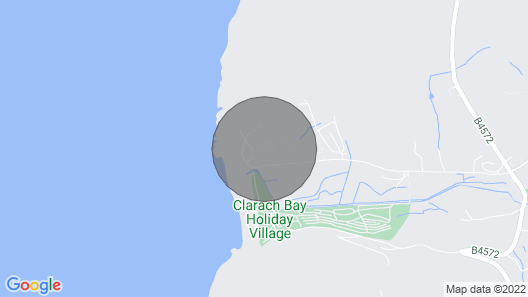 Caravan Holiday Home at Glan y mor Clarach bay nr Aberystwyth,private Deck Area Map