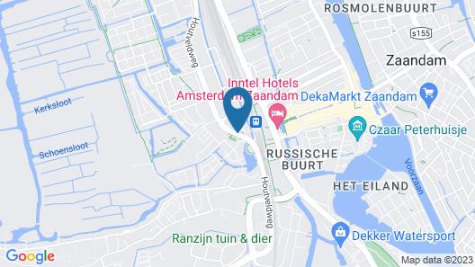 Zaan Hotel Amsterdam - Zaandam Map