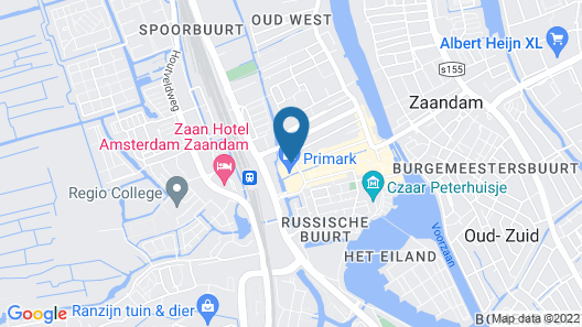 easyHotel Amsterdam Zaandam Map