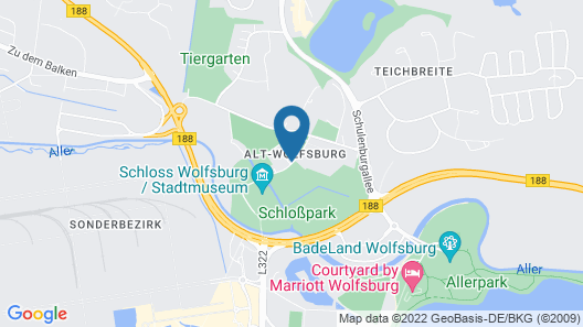 Hotel Alter Wolf Map