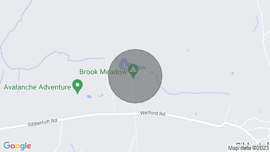 Woodpecker Lodge - Stunning Lakeside Lodge Over Looking Fishing Lake Map